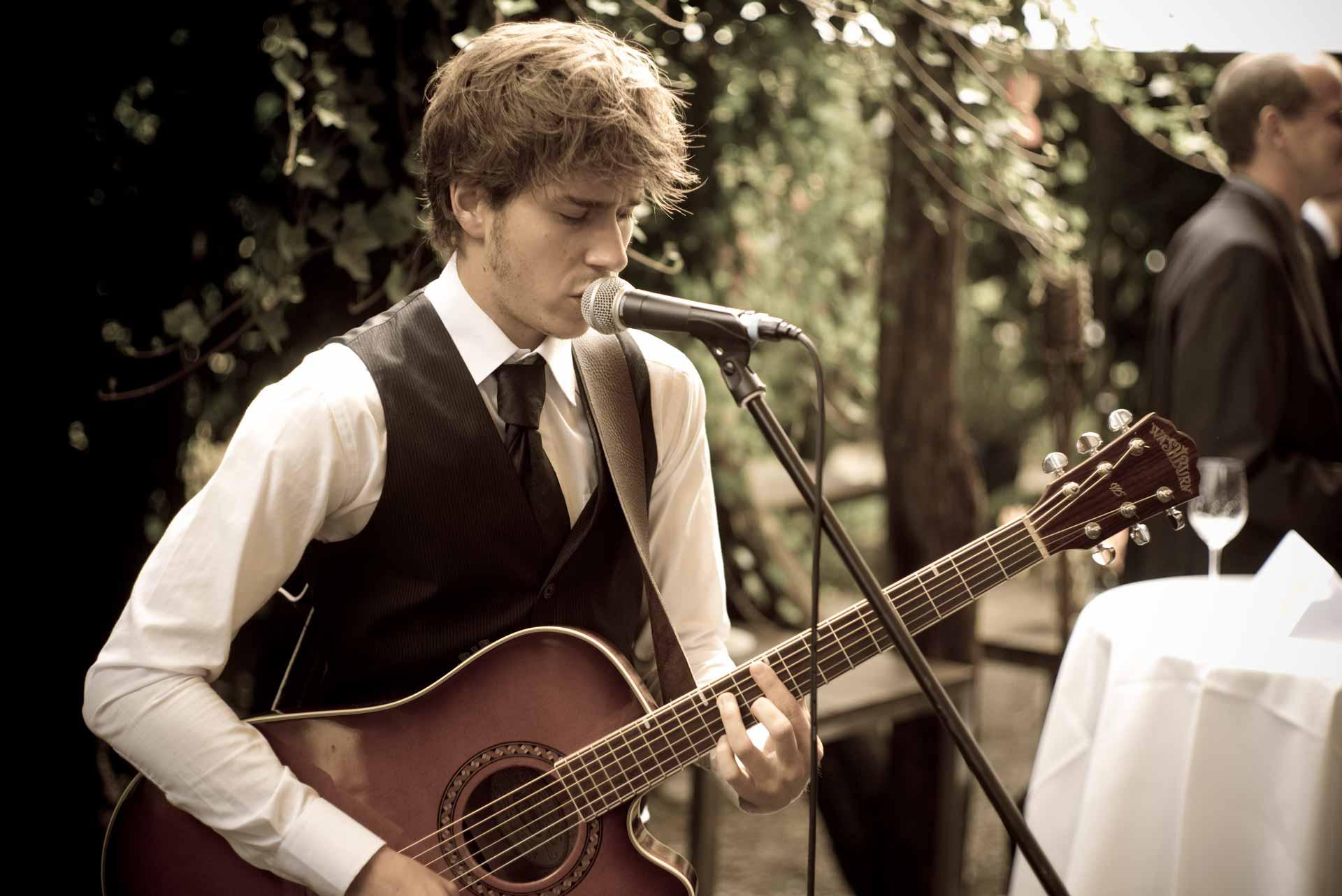 Hochzeitsmusik mit Hochzeitssänger Chris