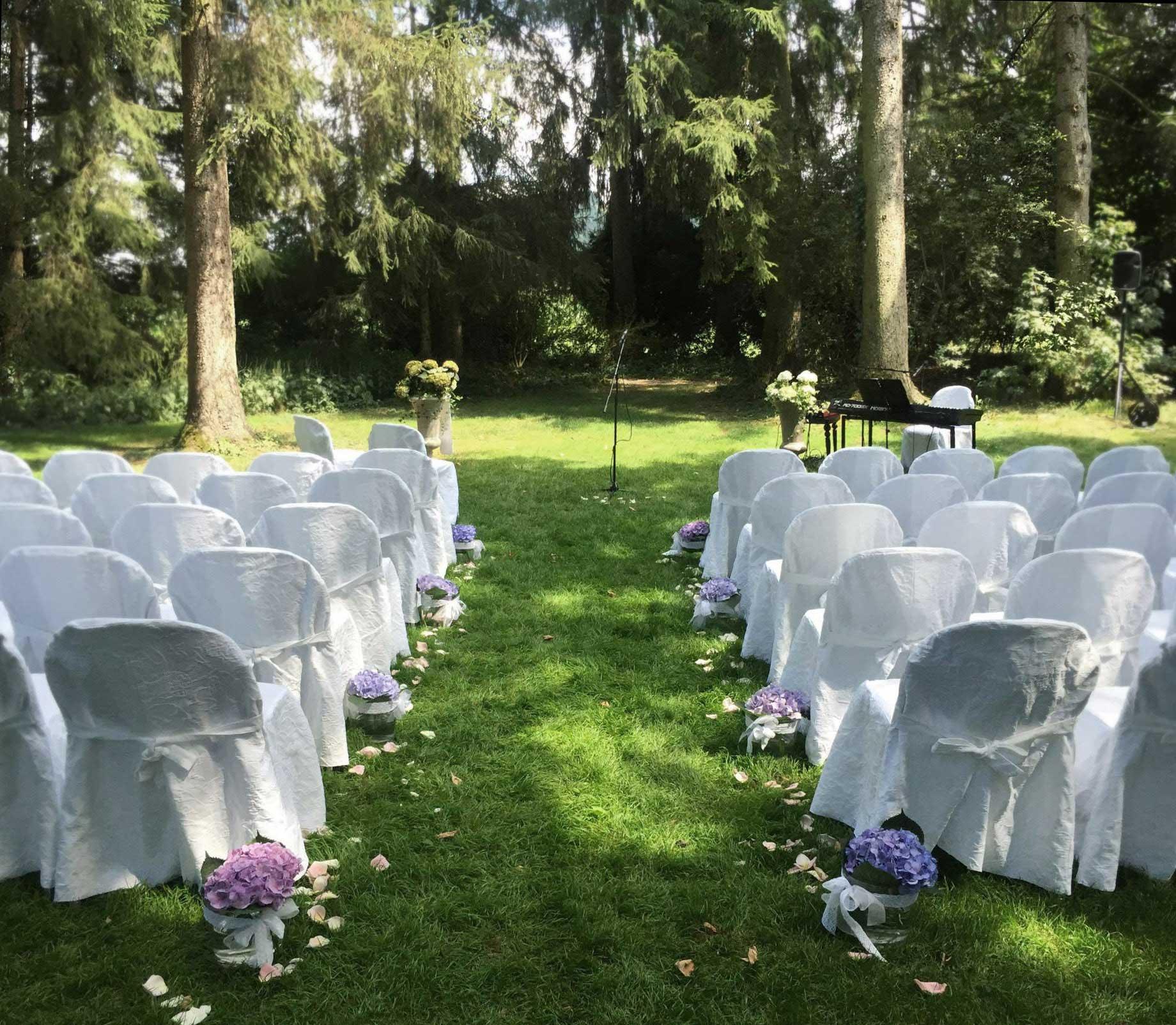 Hochzeit im Wald mit Wedding Voice