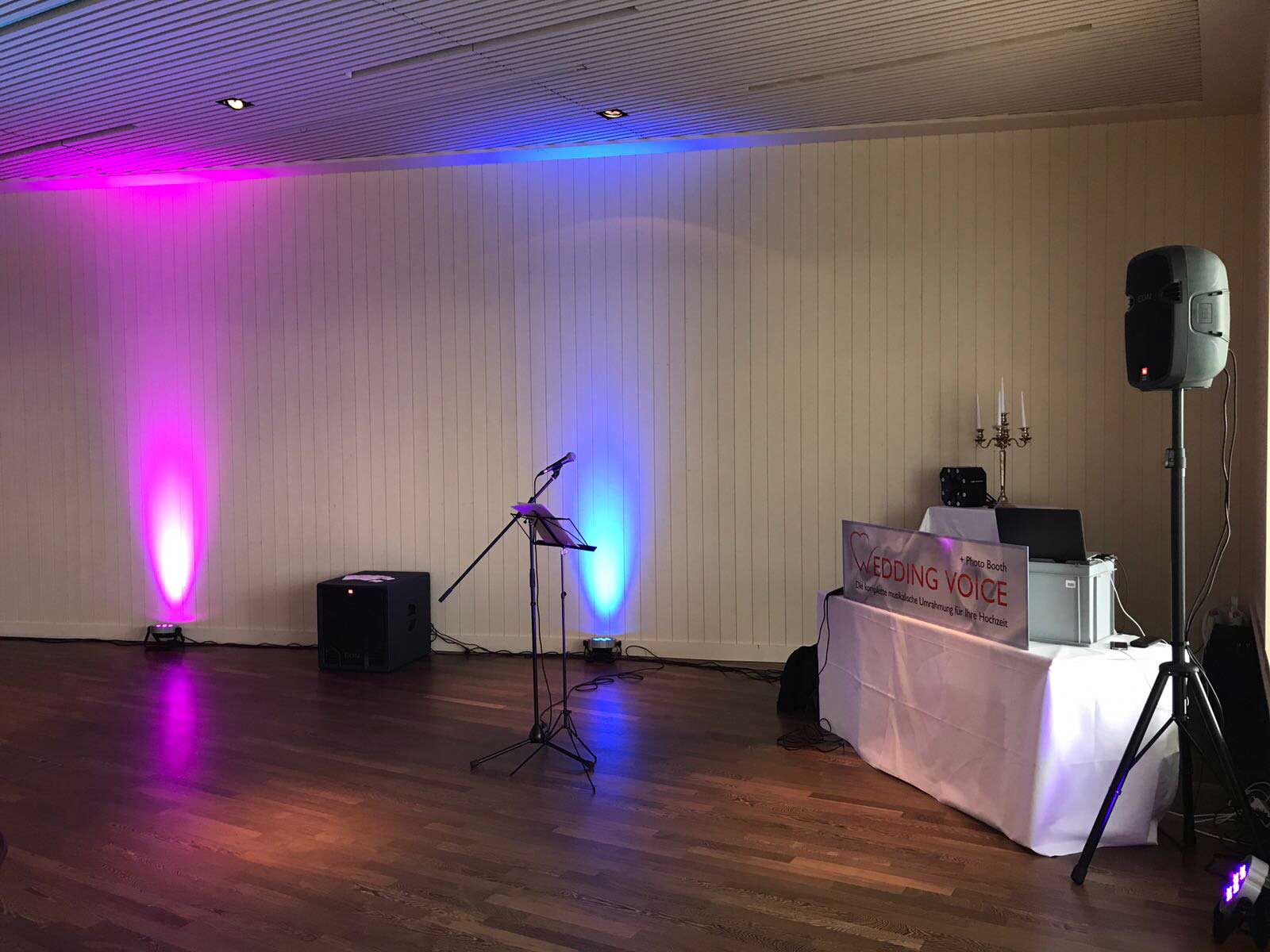 DJ Wedding Voice