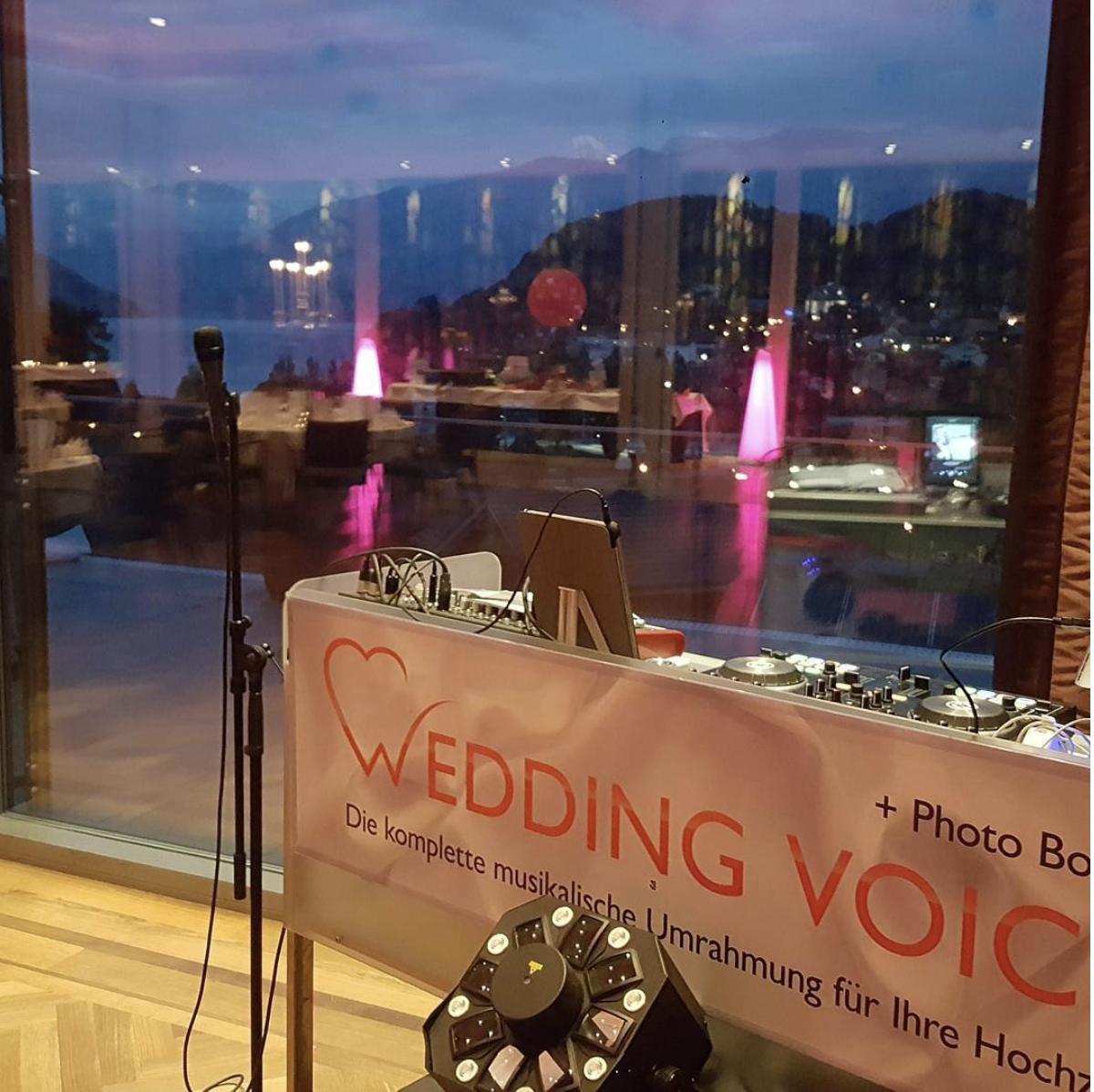 DJ Suche - Hochzeits DJ Ce Wedding Voice Hochzeitsdj Schweiz