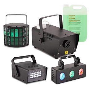 cluster party lights paket