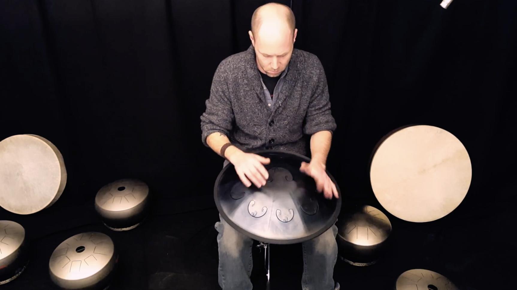 Ethno Hochzeit Space Drum Musiker Schweiz